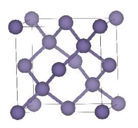Germanium crystal structure